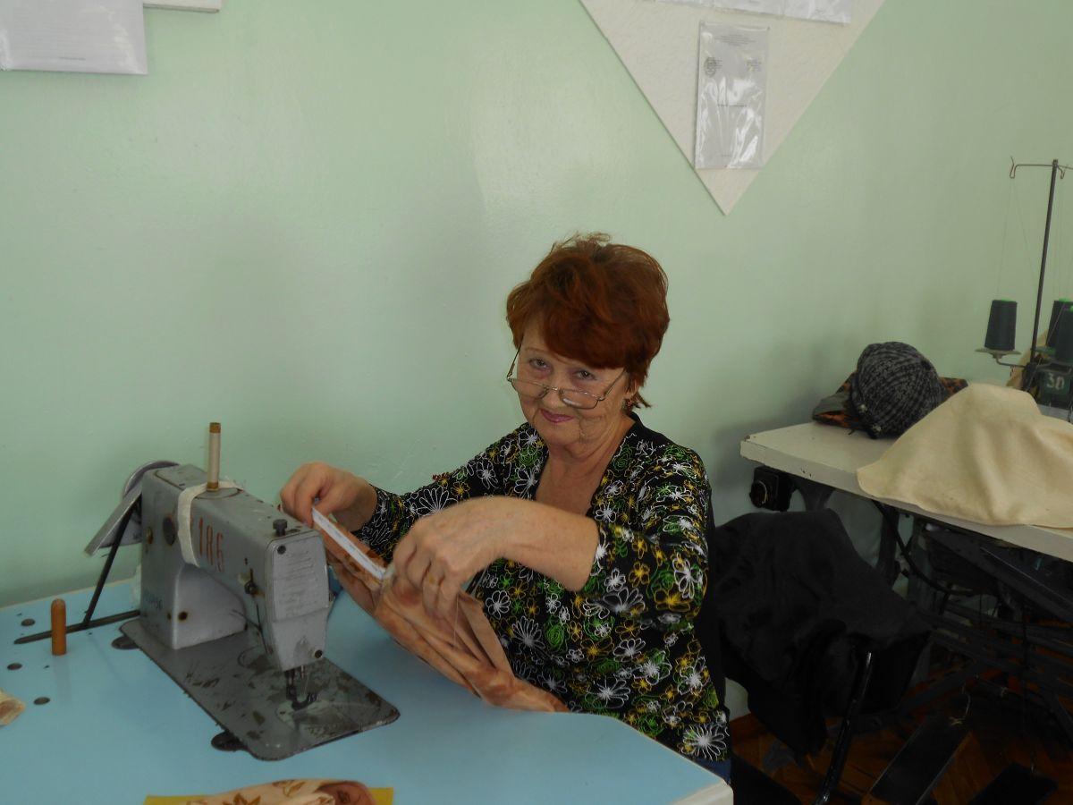 Швейное дело в «Университете третьего возраста»