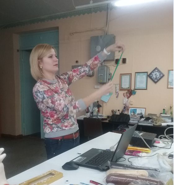 Мастер-класс «Изготовление каркасной куклы из капрона»