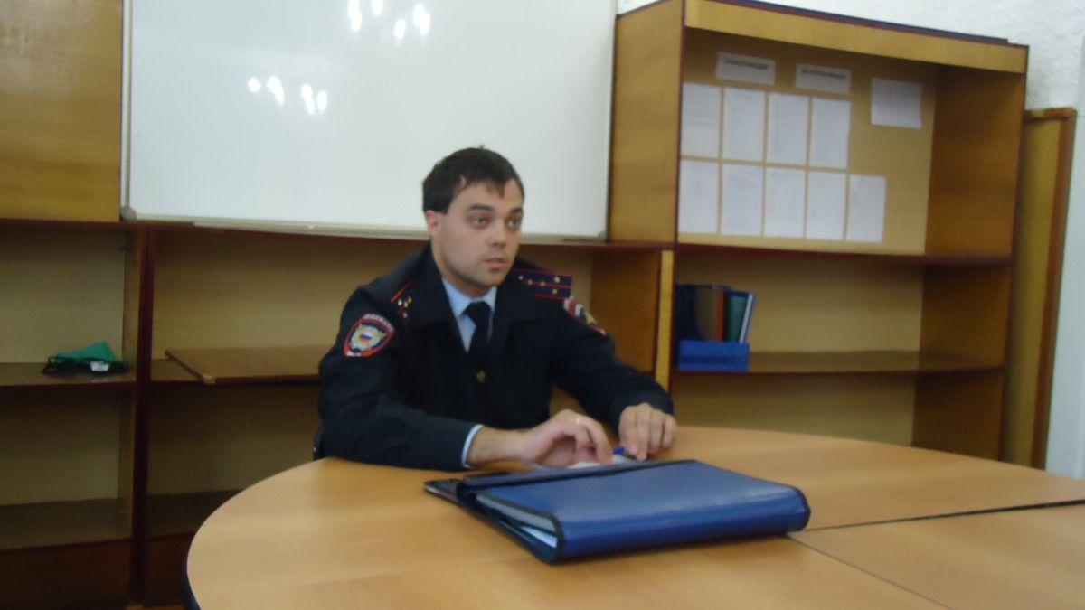 Профилактическая работа сотрудников полиции с обучающимися